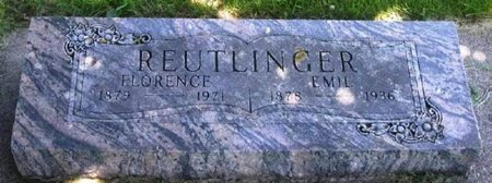 REUTLINGER, FLORENCE NIGHTINGALE - Howard County, Iowa   FLORENCE NIGHTINGALE REUTLINGER