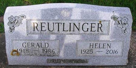SWANSON REUTLINGER, HELEN MARIE - Howard County, Iowa | HELEN MARIE SWANSON REUTLINGER