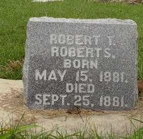ROBERTS, ROBERT  T. - Howard County, Iowa   ROBERT  T. ROBERTS