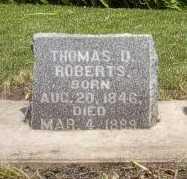 ROBERTS, THOMAS D. - Howard County, Iowa | THOMAS D. ROBERTS