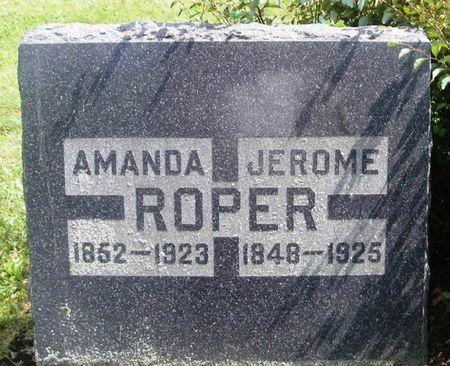 ROPER, AMANDA - Howard County, Iowa   AMANDA ROPER