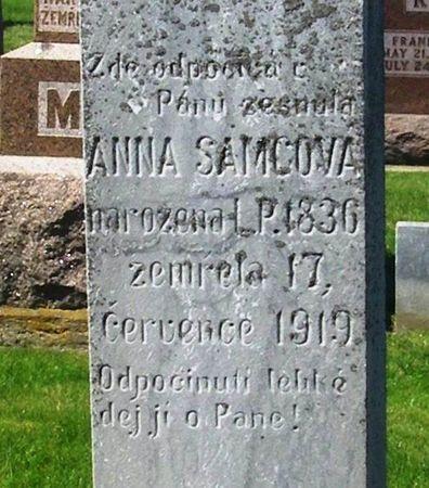 KOMINOVA SAMCOVA, ANNA - Howard County, Iowa | ANNA KOMINOVA SAMCOVA