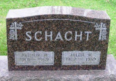 SCHACHT, HILDA W. - Howard County, Iowa   HILDA W. SCHACHT