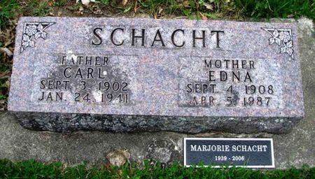 SCHACHT, MARJORIE - Howard County, Iowa | MARJORIE SCHACHT