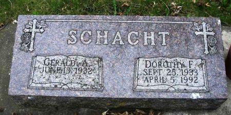 SCHACHT, DOROTHY F. - Howard County, Iowa | DOROTHY F. SCHACHT
