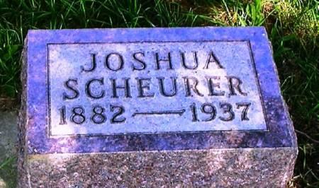 SCHEURER, JOSHUA - Howard County, Iowa   JOSHUA SCHEURER