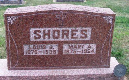 SHORES, MARY A. - Howard County, Iowa   MARY A. SHORES