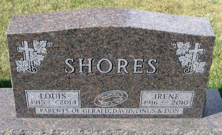 SHORES, LOUIS - Howard County, Iowa   LOUIS SHORES