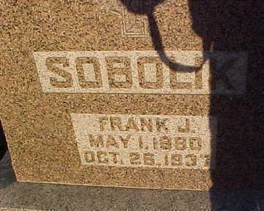 SOBOLIK, FRANK  J. - Howard County, Iowa | FRANK  J. SOBOLIK
