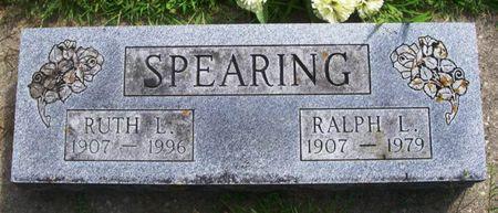 SPEARING, RALPH L. - Howard County, Iowa   RALPH L. SPEARING