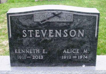 STEVENSON, KENNETH EUGENE - Howard County, Iowa | KENNETH EUGENE STEVENSON
