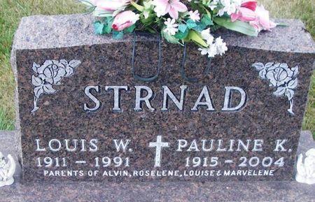 STRNAD, PAULINE K. - Howard County, Iowa | PAULINE K. STRNAD
