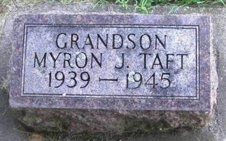TAFT, MYRON J. - Howard County, Iowa | MYRON J. TAFT
