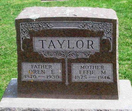 TAYLOR, OREN E. - Howard County, Iowa | OREN E. TAYLOR