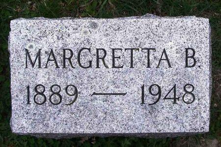 THOMAS, MARGRETTA B. - Howard County, Iowa | MARGRETTA B. THOMAS