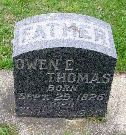 THOMAS, OWEN E. - Howard County, Iowa   OWEN E. THOMAS