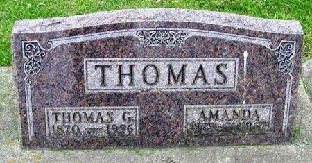THOMAS, THOMAS G. - Howard County, Iowa   THOMAS G. THOMAS