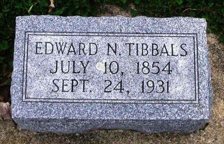 TIBBALS, EDWARD N. - Howard County, Iowa   EDWARD N. TIBBALS