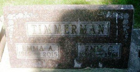 TIMMERMAN, EMIL C. - Howard County, Iowa | EMIL C. TIMMERMAN