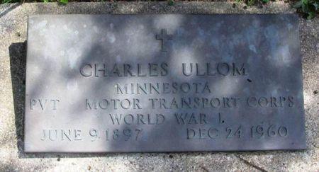 ULLOM, CHARLES - Howard County, Iowa   CHARLES ULLOM