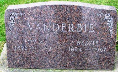VANDERBIE, BESSIE - Howard County, Iowa   BESSIE VANDERBIE