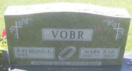 VOBR, MARY ANN - Howard County, Iowa | MARY ANN VOBR