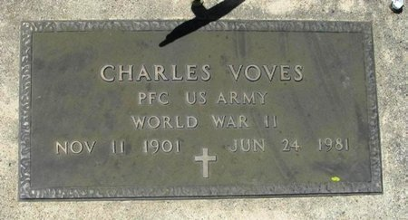VOVES, CHARLES - Howard County, Iowa | CHARLES VOVES