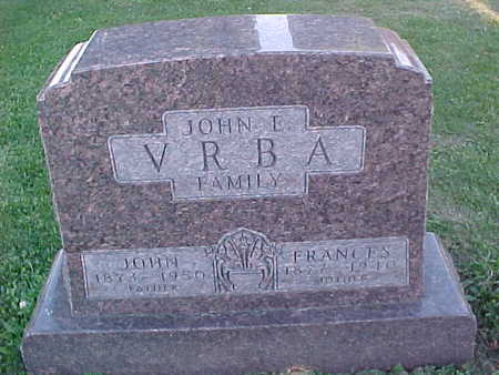 VRBA, JOHN  E. - Howard County, Iowa | JOHN  E. VRBA