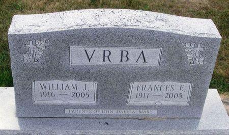 VRBA, WILLIAM J. - Howard County, Iowa   WILLIAM J. VRBA