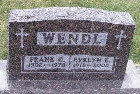 WENDL, FRANK C. - Howard County, Iowa   FRANK C. WENDL