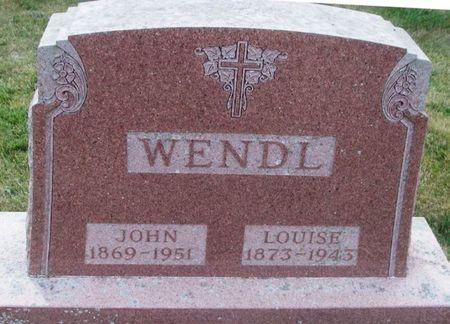 WENDL, JOHN - Howard County, Iowa | JOHN WENDL