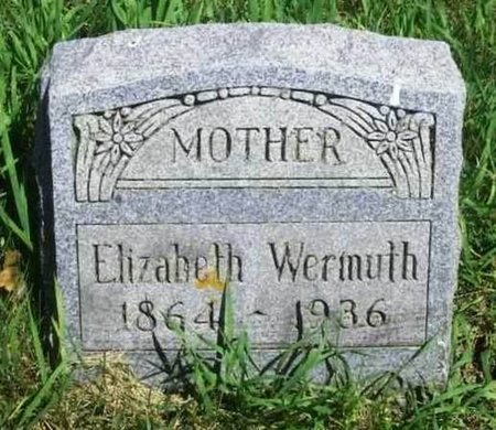 WERMUTH, ELIZABETH - Howard County, Iowa | ELIZABETH WERMUTH