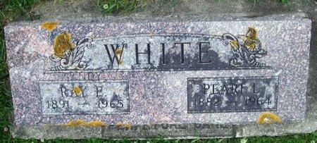 WHITE, PEARL L - Howard County, Iowa   PEARL L WHITE