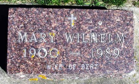 WILHELM, MARY - Howard County, Iowa | MARY WILHELM