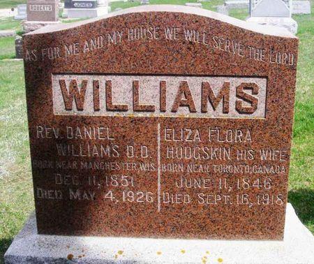 WILLIAMS, ELIZA FLORA - Howard County, Iowa | ELIZA FLORA WILLIAMS