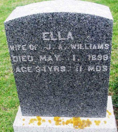 WILLIAMS, ELLA - Howard County, Iowa | ELLA WILLIAMS