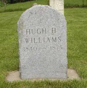 WILLIAMS, HUGH H. - Howard County, Iowa | HUGH H. WILLIAMS