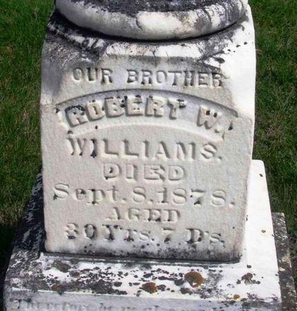 WILLIAMS, ROBERT W. - Howard County, Iowa   ROBERT W. WILLIAMS