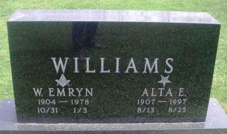 WILLIAMS, ALTA E. - Howard County, Iowa | ALTA E. WILLIAMS