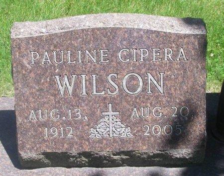 CIPERA WILSON, PAULINE - Howard County, Iowa | PAULINE CIPERA WILSON