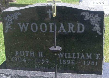 MACKENBURG WOODARD, RUTH HANNAH - Howard County, Iowa | RUTH HANNAH MACKENBURG WOODARD