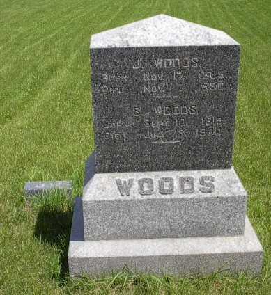WOODS, J. - Howard County, Iowa   J. WOODS