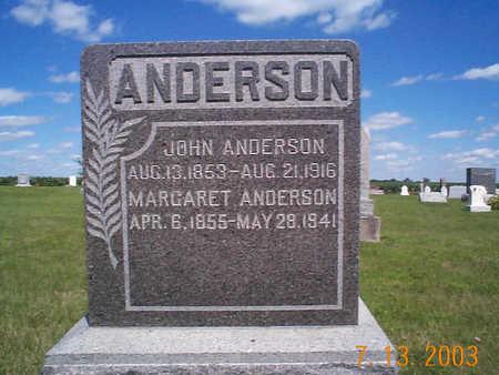 ANDERSON, MARGARET ALVIRA - Humboldt County, Iowa | MARGARET ALVIRA ANDERSON