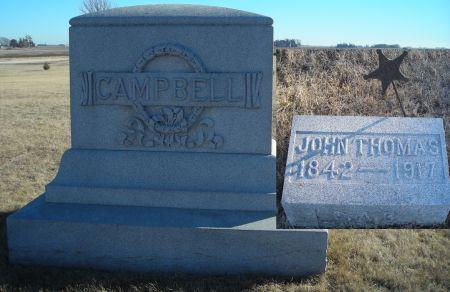 CAMPBELL, JOHN THOMAS - Humboldt County, Iowa   JOHN THOMAS CAMPBELL