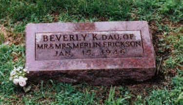 ERICKSON, BEVERLY K. - Humboldt County, Iowa | BEVERLY K. ERICKSON