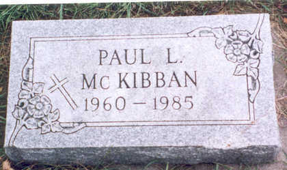 MCKIBBAN, JR., PAUL LAVERNE - Humboldt County, Iowa | PAUL LAVERNE MCKIBBAN, JR.