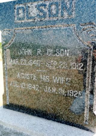 OLSON, JOHN R - Humboldt County, Iowa | JOHN R OLSON