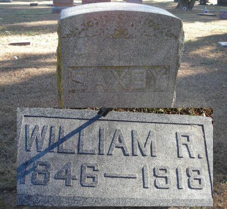 SAXBY, WILLIAM RILEY - Humboldt County, Iowa   WILLIAM RILEY SAXBY