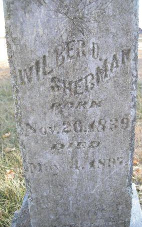 SHERMAN, WILBER D. - Humboldt County, Iowa | WILBER D. SHERMAN