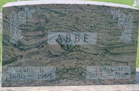 ABBE, EMIL H. - Ida County, Iowa | EMIL H. ABBE